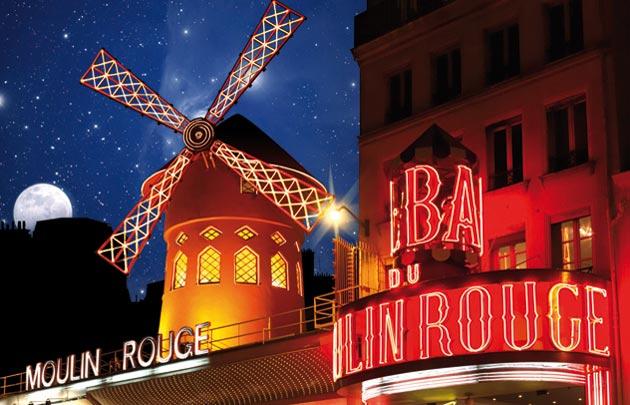 Le moulin rouge : un cabaret aux 1000 lumières