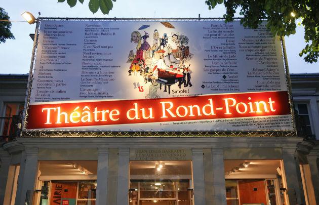 L'histoire du théâtre du rond point